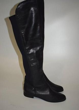 Кожаные ботфорты globus shoes