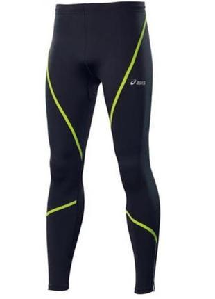 Термо штаны asics winter tights для прохладной погоды тайтсы