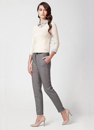 Распродажа!супер брюки с высокой посадкой зауженные англия