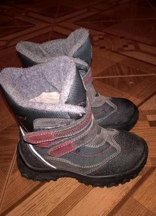 Зимние ботинки капика 29 р. 18,5 см. по стельке.