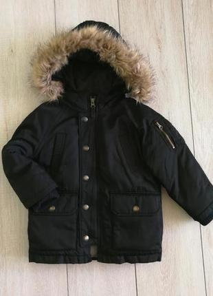Зимняя куртка парка 98 -104 gap