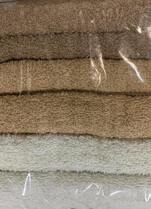 Махровые полотенца с венгрии набор 6 шт размер 90*50