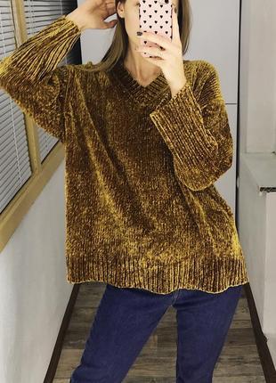 🌸ежедневные обновы,заходи🌸 плюшевый бархатный свитер zara