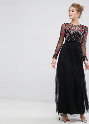 Frock and frill розкішна тюлева вишита сукня