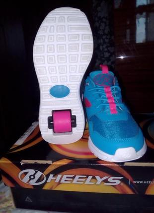 Крутые роликовые кроссовки heelys force