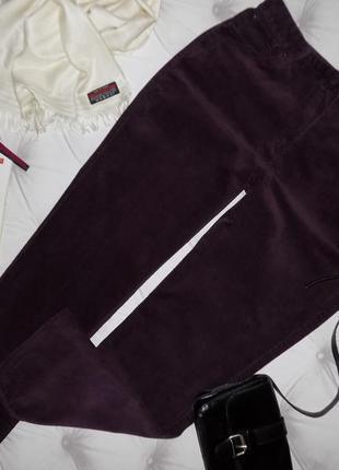 16 р-ра тёплые вельветовые джинсы