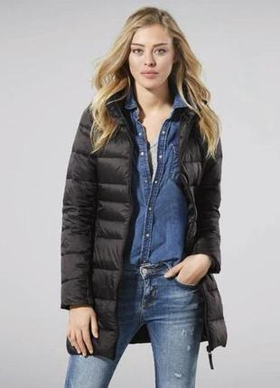 Ультра легкое стеганое женское пальто esmara размер наш 44-46
