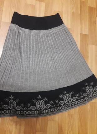 Теплая юбка (белорусский трикотаж)