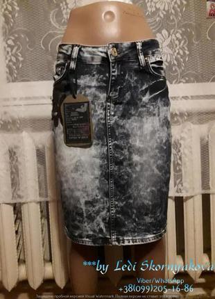 Новая варёнка юбка-карандаш, размер с-м