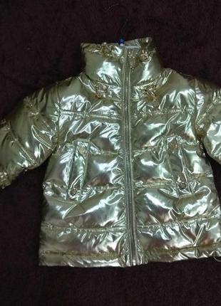 Куртка на 3-7 лет 24-32р gaialuna италия