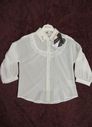 Блуза на 8-12 лет 34-42р gaialuna италия