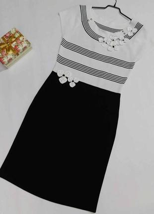 Шикарное нарядное качественное платье philippe carat размер xl