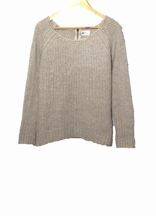 Стильный теплый свитер свитшот