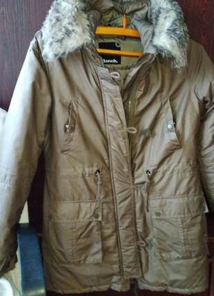 Куртка зимняя bench очень теплая