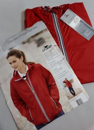 Унисекс ветровка-дождевик с капюшоном techtex от немецкого бренда crane
