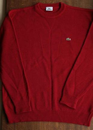 Мужской шерстяной свитер lacoste