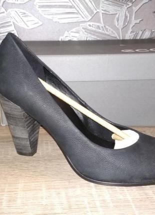 Туфли ecco 39 размер оригинал