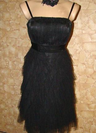 Вечернее нарядное платье-сарафан apart р.40