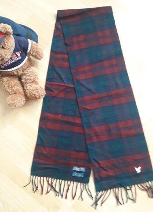 Отличный кашемировый шарф lyle & scott
