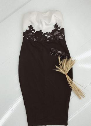 Платье миди по фигуре от ax paris
