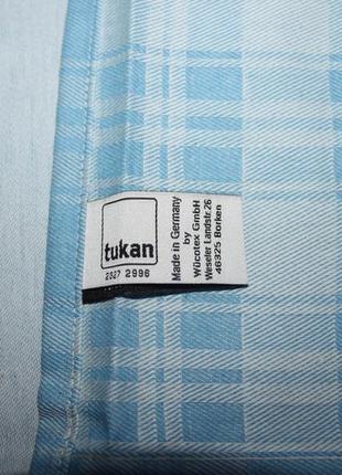Фирменная новая скатерть 80х80 tukan 100% хлопок (германия)5