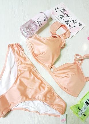 Купальник victoria's secret. pink