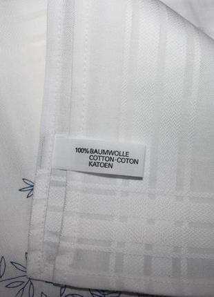 Фирменная скатерть-вышивка, укомплектованная нитками, 80х80 (германия)5 фото