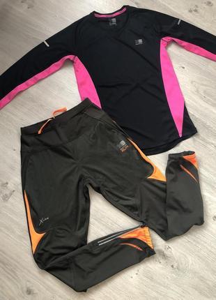 Костюм для бега, костюм для спорта. костюм для фитнеса. р. 44-46. karrimor