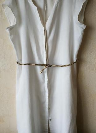 Платье лен/paul costelloe