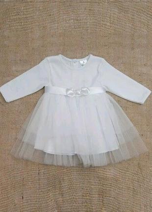 Платье снежинка 86-921