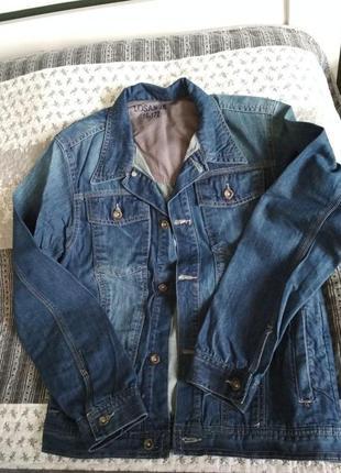 Джинсова чоловіча куртка losan jr