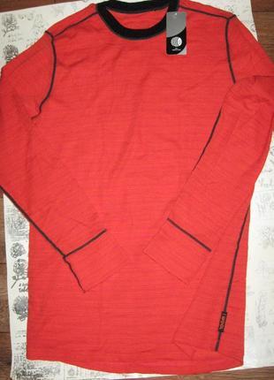 Термокофта из 100% шерсти мериноса woolmark р.xl,