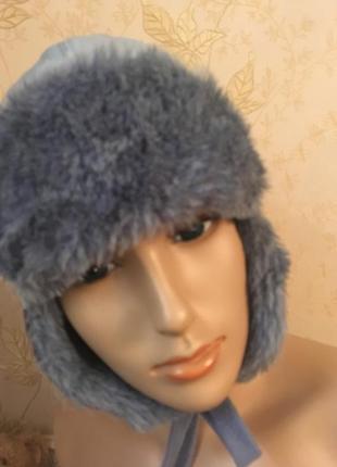 Зимняя шапка 6-7 лет