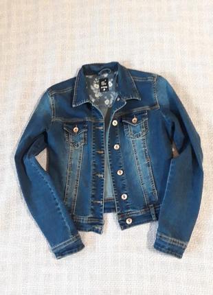Джинсовая курточка, жакет, пиджак