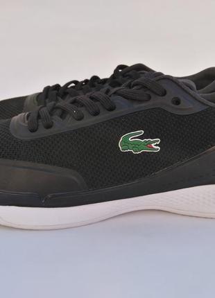 Кроссовки lacoste lt pro 317 оригинал черные кеды спортивная обувь лакост 513460f0014