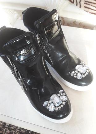 Balmain ботинки черевики