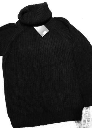 Роскошный over-size свитер
