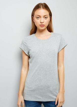 Хлопковая трикотажная футболка оверсайз, бойфренд топ удлиненный
