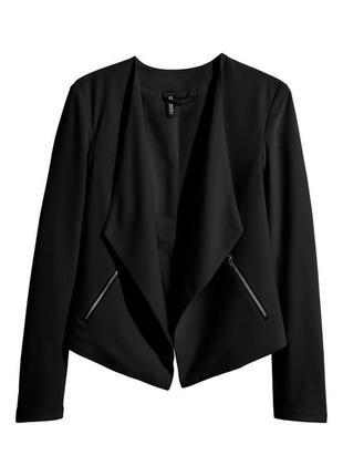 Крепированный пиджак h&m 225411
