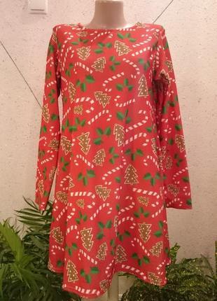 Новогоднее платье 8-12