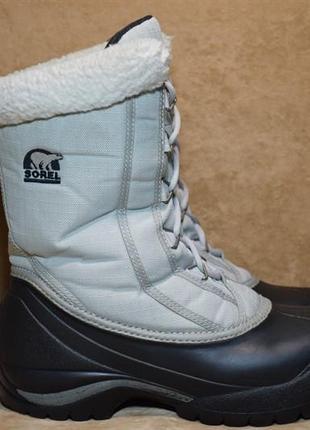 Термоботинки sorel cumberland thinsulate ботинки сапоги зимние. оригинал. 39 р./25 см.