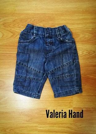 Мягкие комфортные легкие джинсы - брюки tu - возраст 0-3 месяца