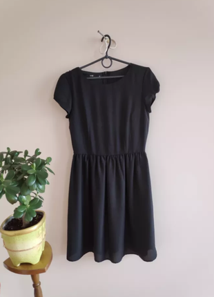 Чорна сукня, плаття, черное платье oodji