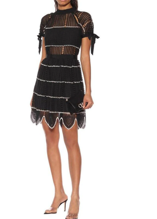 Модное стильное брендовое платье в стиле селф