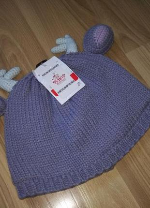 Новогодняя шапочка с рожками c&a германия