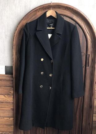 Зимнее пальто mango размер м