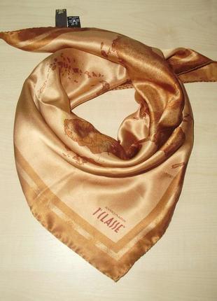Alviero martini  шелковый шейный платок