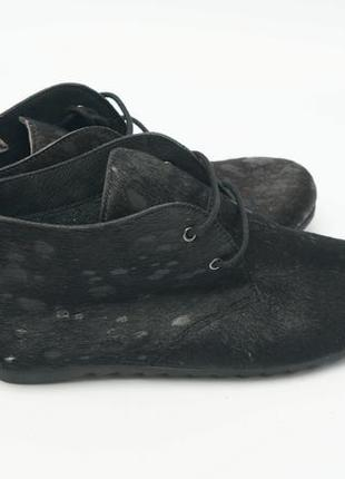 Ботинки из меха пони maruti италия, 37 р.