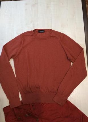 Джемпер свитер светр кофта лонгслив хлопок
