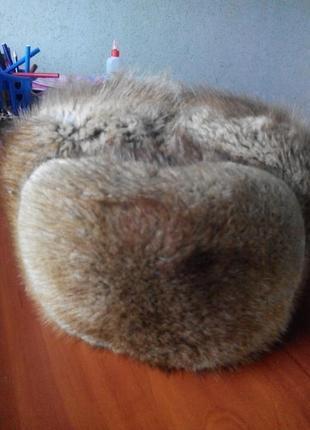 Шапка зимняя с андатры